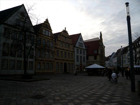 Historic part of town