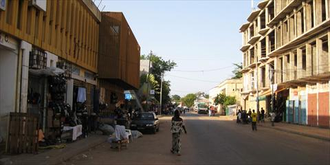 Banjul on a Sunday afternoon